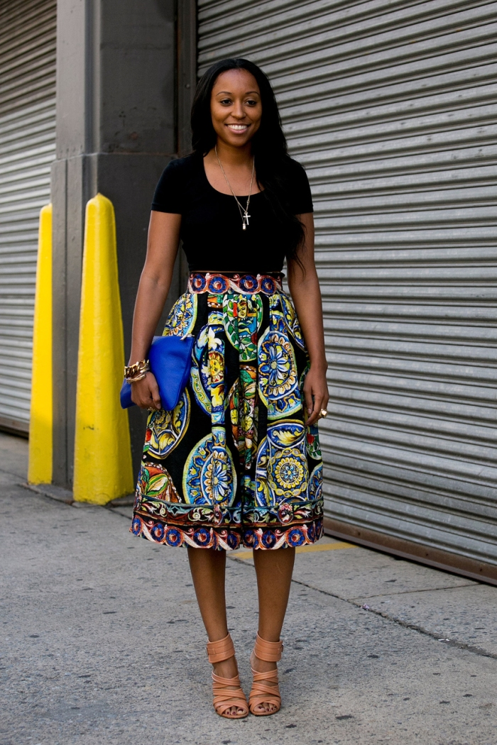blog_Shiona-Turini-pared-down-bold-full-skirt-t-shirt-strappy