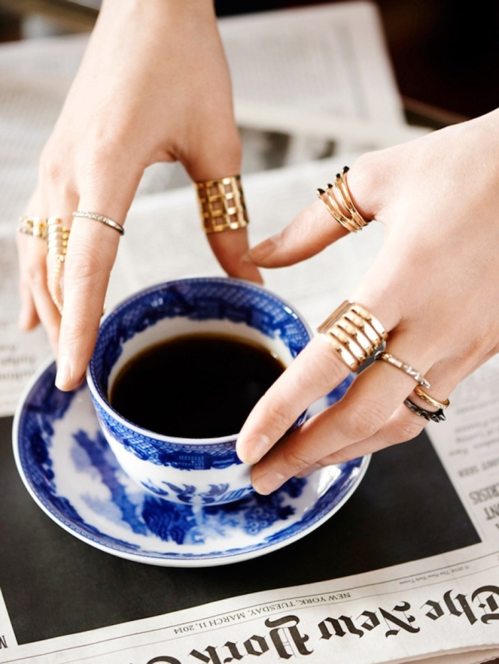 blog_Le-Fashion-Blog-Bauble-Bar-Coco-Rocha-Jewelry-Collection-Rings-Cage-Pave-Studded-Set-Blue-White-China-Cup-Saucer-Via-Tom-Schirmacher