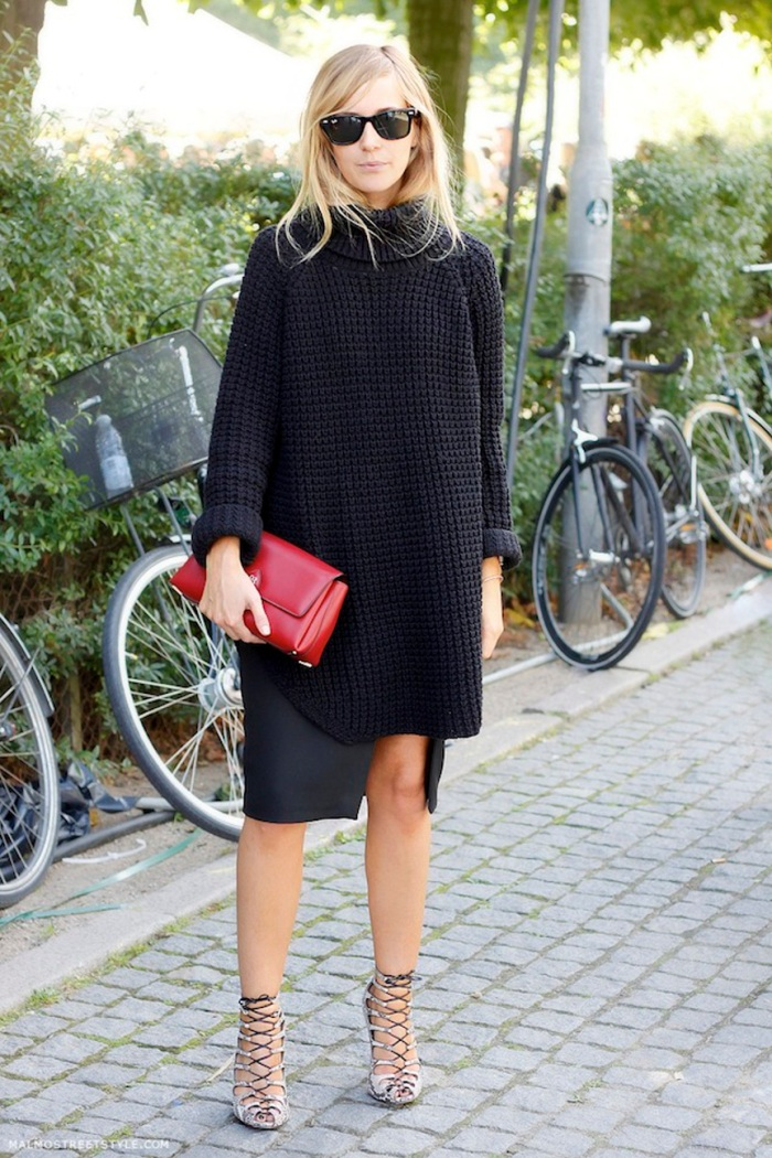 blog_Le-Fashion-Blog-Copenhagen-Street-Style-Emma-Elwin-Oversized-Turtleneck-Slit-Skirt-Lace-Up-Heels-Via-Malmo-Street-Style