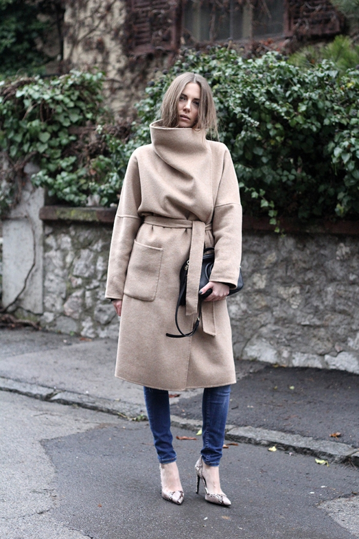 blog_vanja, fashion and style blog, zara camel coat, camel oversized coat with belt, gucci disco bag in black, zara shoes