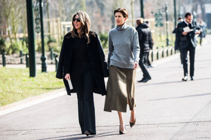 Paris Fashionweek FW 2015 day 8, outside Louis Vuitton
