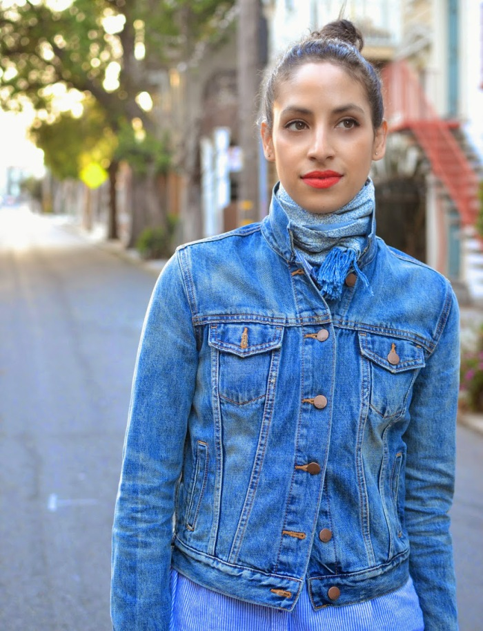 blog5_Allergic to Vanilla- SF Style Blog, the perfect denim jacket, all denim, denim on denim, SF style