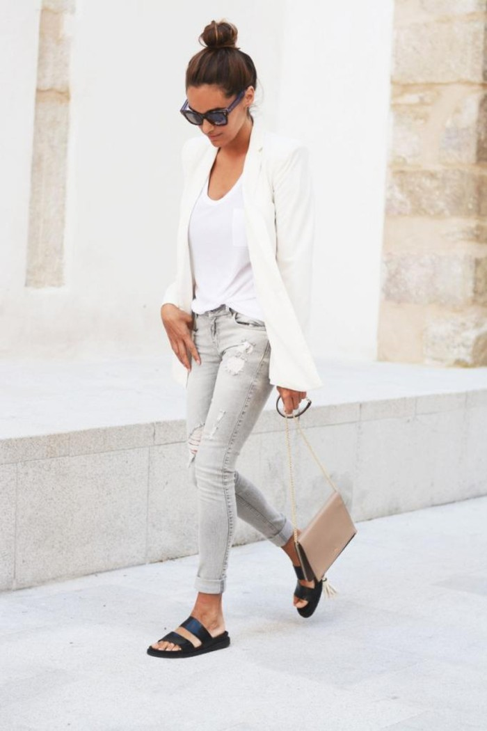 blog_Le-Fashion-Blog-Blogger-Style-Casual-Chic-Neutrals-White-Blazer-Grey-Distressed-Skinny-Jeans-Black-Slide-Sandals-Via-Maria-Of-Stella-Wan