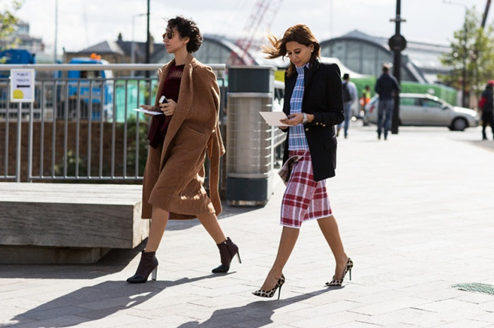 London Fashionweek ss2014, LFWSS2014, outside Erdem