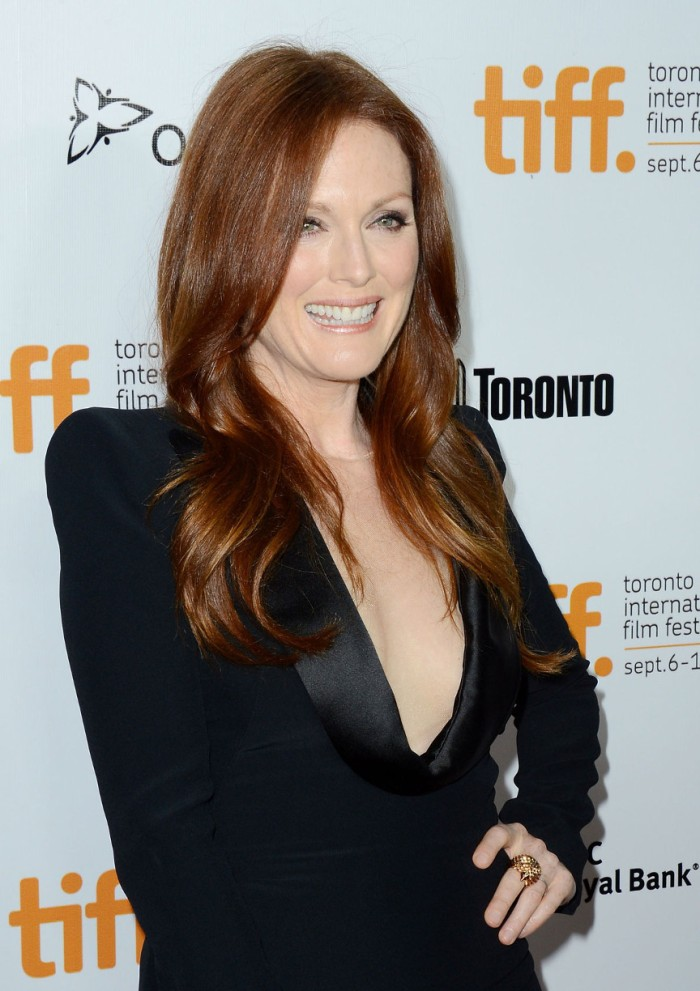 JULIANNE MOORE at What Maisie Knew Premiere at Toronto Film Fest